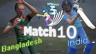 Semi Final - India vs Bangladesh - Season 5 | WWKCC - World Cricket Championship 3 WCC 3 Live stream