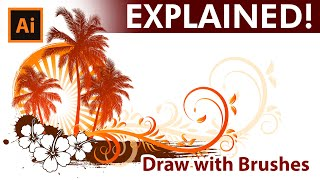 How to draw a Caribbean Design in Adobe Illustrator