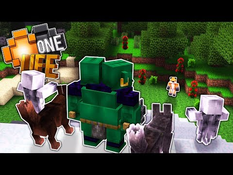 THE OGRES ARE OUT - Minecraft One Life S3...