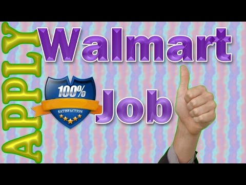 Walmart Job Application Online Video Review