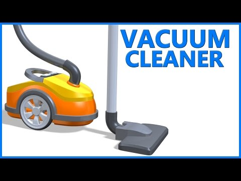 Thumbnail: Vacuum Cleaner | Toys Animation | Children Videos | Poems For Kids