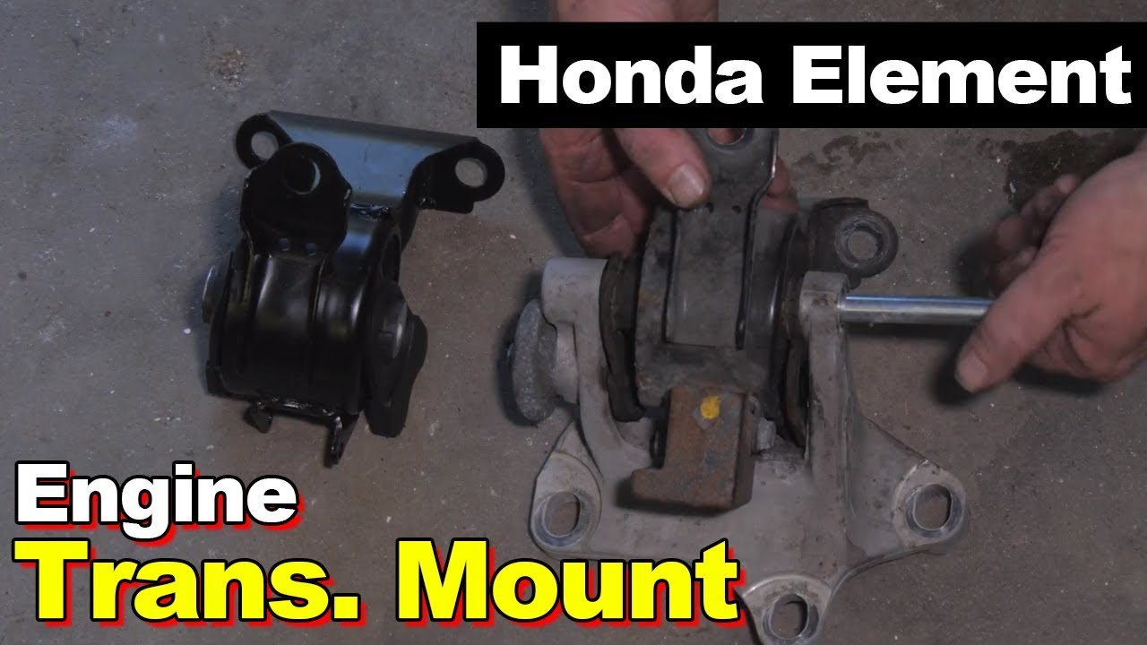 2006 Honda Element Transmission Mount Youtube