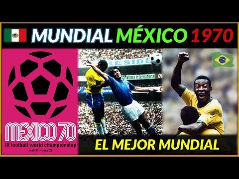 MUNDIAL MÉXICO 1970 🇲🇽 BRASIL Tricampeona del Mundo 🏆 Historia de los Mundiales