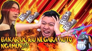 BAKAR UC SKAR L ULTIMATE??!! IBU NEGARA MALAH NGEGAS !!! PUBG MOBILE INDONESIA
