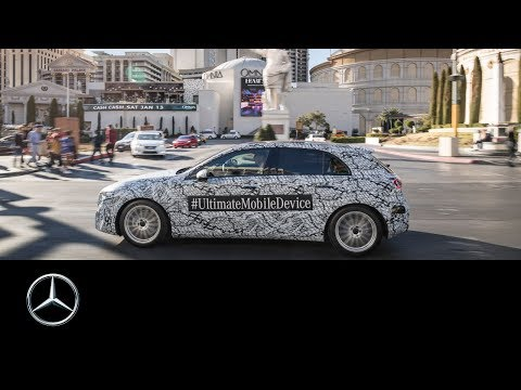The brand-new Mercedes-Benz A-Class in Las Vegas | CES 2018