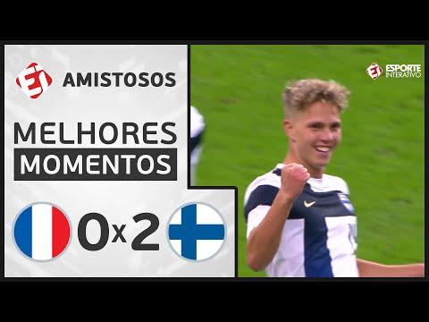 FRANÇA 0 x 2 FINLÂNDIA - MELHORES MOMENTOS - AMISTOSO INTERNACIONAL (11/11/2020)
