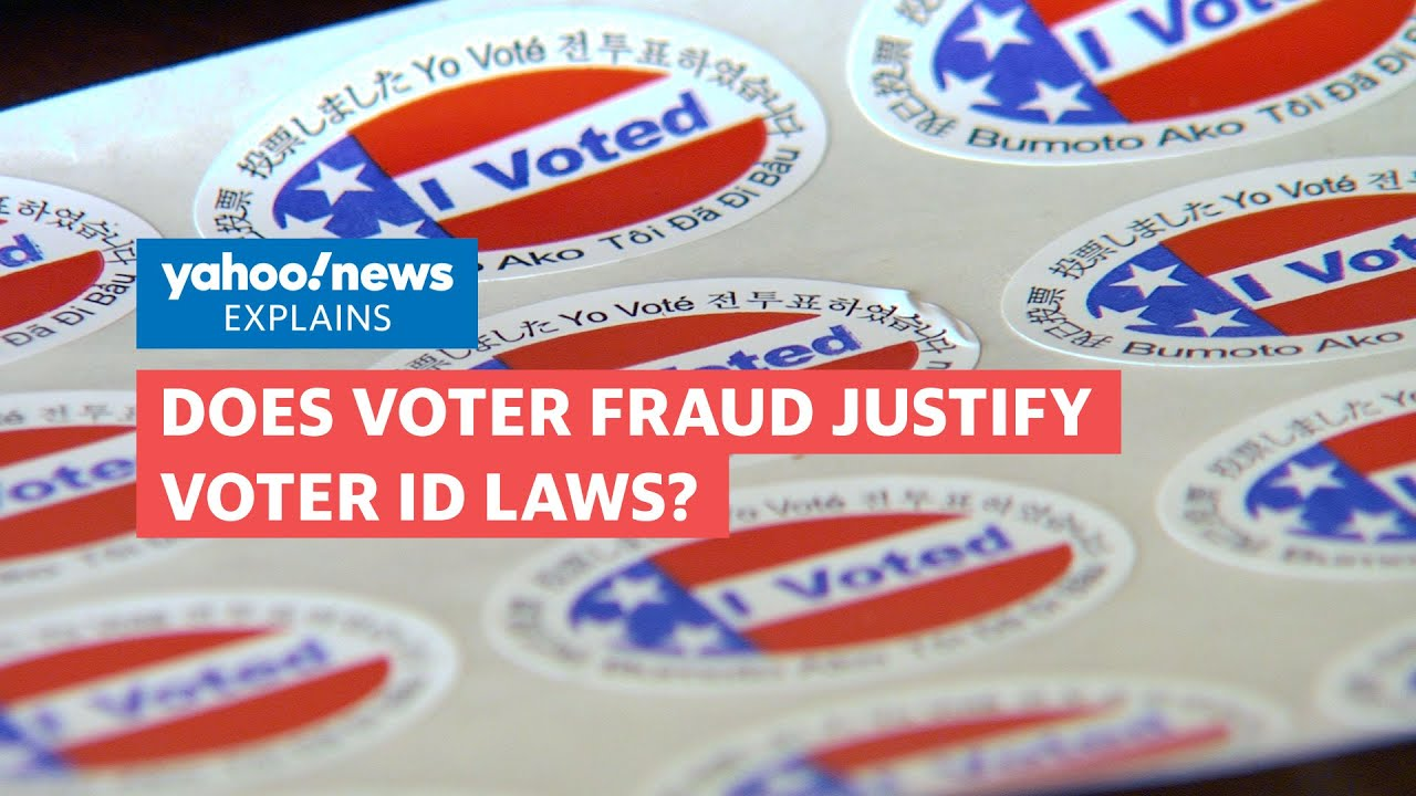 Does voter fraud justify voter ID laws?
