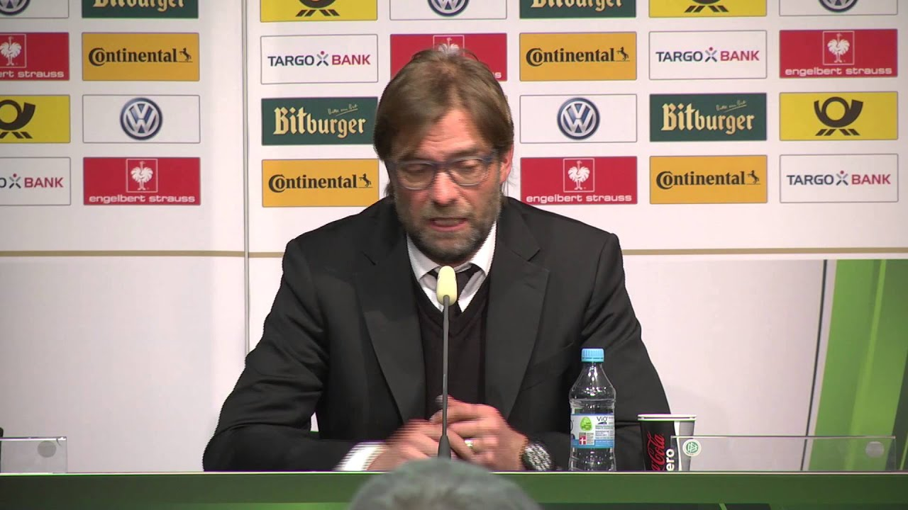 "Jürgen Klopp: ""Finale war Saisonziel"" | Borussia Dortmund - FC Bayern München | DFB-Pokal"