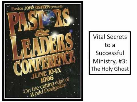 John Osteen's 1996 Pastors & Leaders World Conference #3: The Holy Ghost