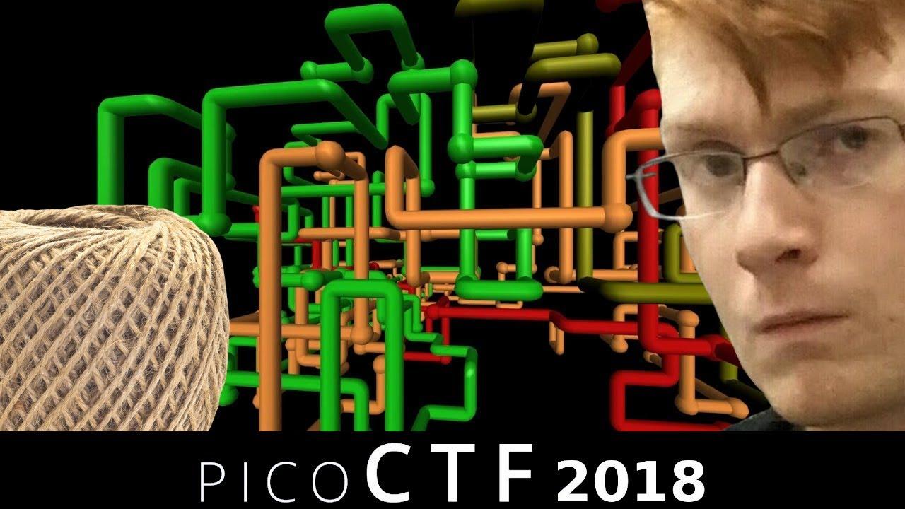 picoCTF 2018 [05] strings, pipe & Inspect Me - Video - ViLOOK