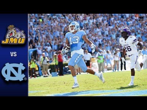 North Carolina vs. James Madison Football Highlights (2016)