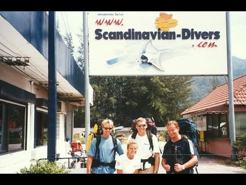 How it all started - Scandinavian Divers at Phuket Island - 1994 -