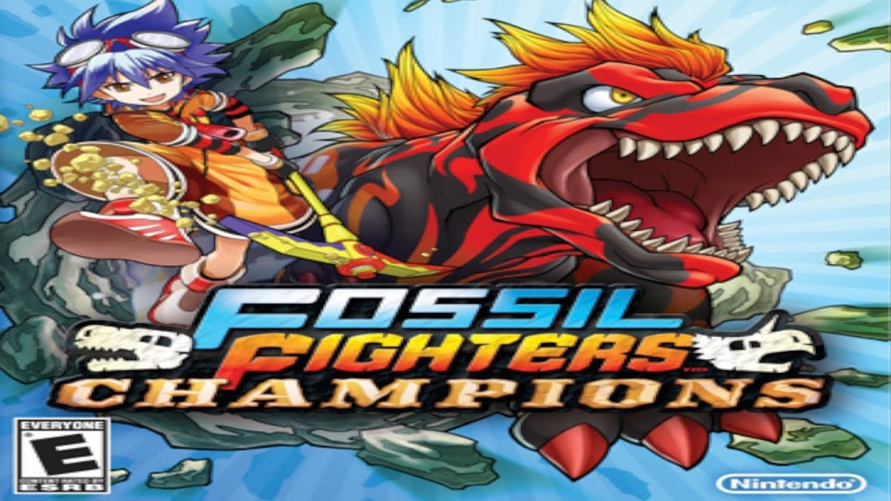 champions Fossil fighters