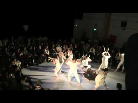 The performance Pinngortitaq Nipiliutsigu - Gevirdansen