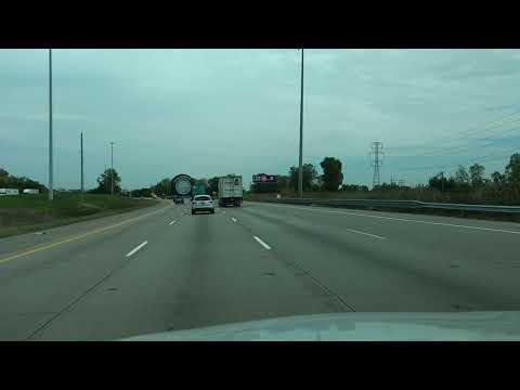 Giant Uniroyal tire on I-94 Eastbound near Detroit