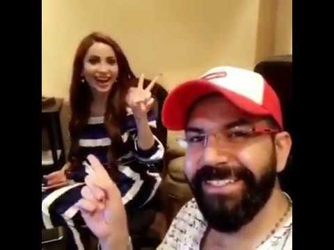 تجهيز نسرين طافش للأغنيه العراقيه الجديدة2017Miss World Nasreen Tafesh