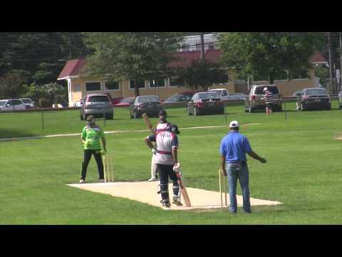 Pakistan First bowling vs Lehigh Valley Cricket Club