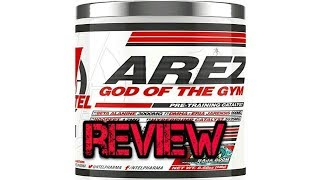Arez God Of The Gym Pre Workout by Ntel Pharma Review (With DMHA)