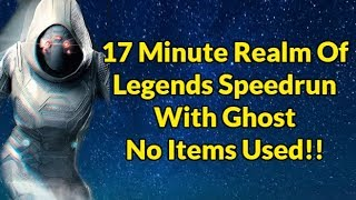 Realm Of Legends Speedrun With 5/65 Ghost | Marvel Contest Of Champions