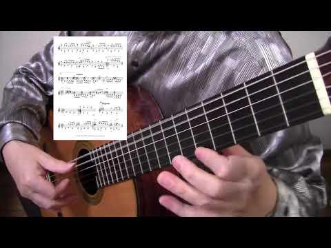 悲しき天使 Those Were the Days ギターソロ タブ譜と楽譜: ギター ...