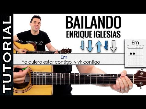 Bailando acordes de guitarra enrique iglesias funnycat tv for Tu jardin con enanitos acordes