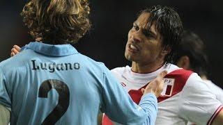 Diego Lugano vs Paolo Guerrero - Round 1 y 2