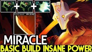 MIRACLE [Juggernaut] Basic Build Insane Powerful Smurf Game 7.22 Dota 2
