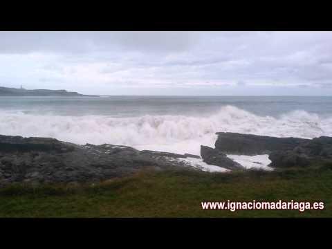 Swell on the Cantabrian Sea (Mar de fondo en el Cantábrico)