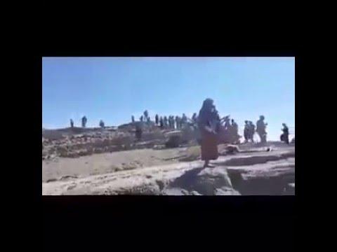 فيديو: قوات الشرعية تباغت مليشيا الحوثي وصالح وتصل مديرية بني حشيش القريبة من صنعاء