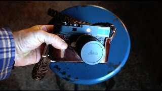 The Leica M10 Leather Half Case - Review