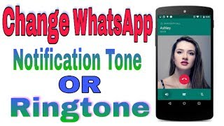 #simplytech #changewhatsappringtone #changewhatsappnotificationtone cover topic : set custom ringtone in whatsapp change for how to ...