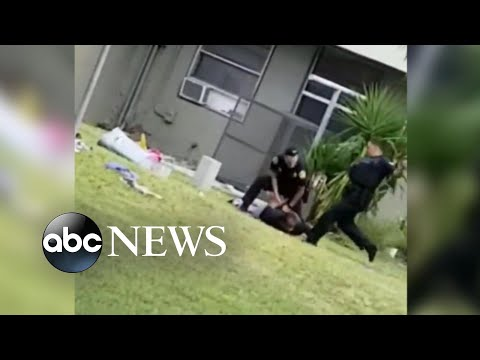 Cop caught on video kicking suspect in head