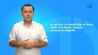 HABER YAZMA TEKNİKLERİ - Ünite 3 Özet
