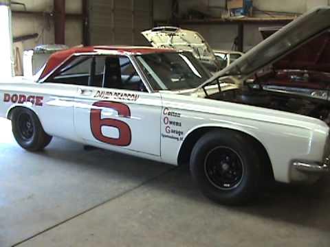 Cotton Owens Fires Up Dodge Nascar Race Car Youtube