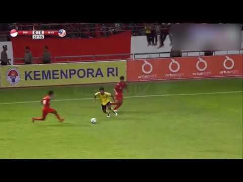 Malaysia Vs Indonesia : Asian Schools Football Championship 2019