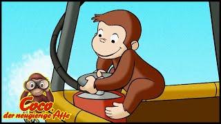 Coco der Neugierige 🐵201 Ein Abenteuer in den Wolken 🐵 Ganze Folgen 🐵 Cartoons für Kinder🐵Staffel 2