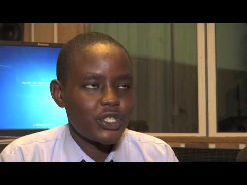20171606 South Sudanese Students Take Over Radio Miraya on Day of the African Child