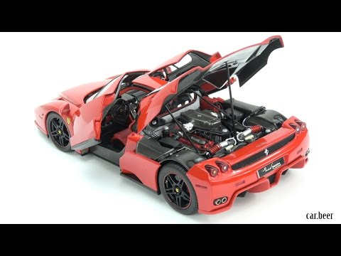 1/18 Ferrari Enzo Red by BBR - 4K video review