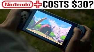 """Nintendo Switch Online (Costs Less Than $30 a Year) """"Nintendo Plus, Nintendo Live"""""""