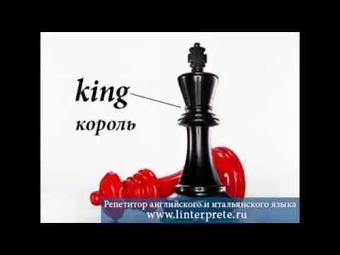 Как шахматы на английском