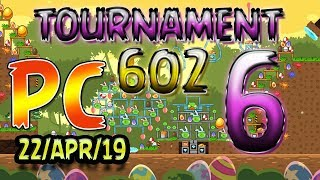 Angry Birds Friends Level 6 PC Tournament 602 Highscore POWER-UP walkthrough #AngryBirds