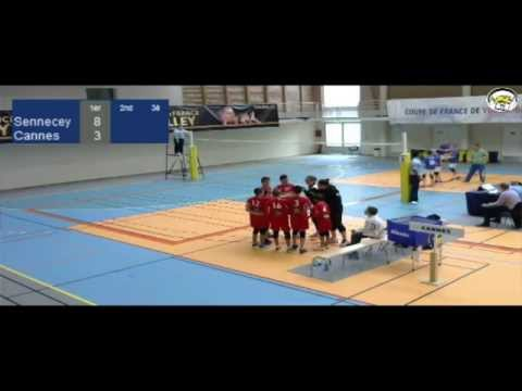 ASV TV - Volley - CDF M13 2015 - Sennecey Vs Cannes - BME030