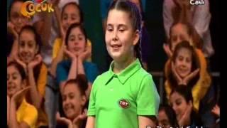 """2015 TRT Popüler Çocuk Şarkıları Yarışması'nda 2. olan Şarkı """"Tebessüm"""" Resimi"""