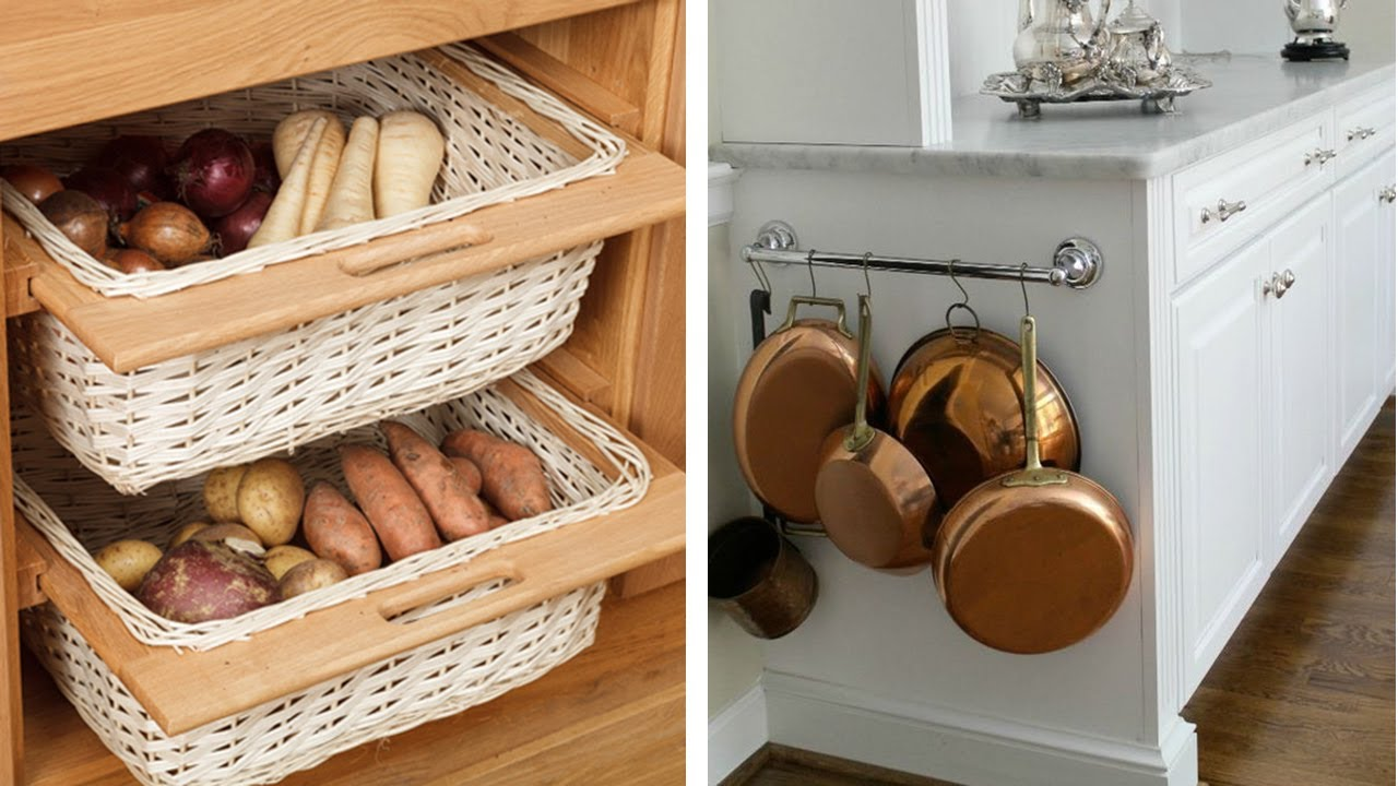 25 Ideas To Re Organize Your Small Kitchen Youtube