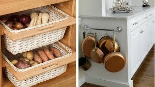 25 Ideas to Re organize Your Small Kitchen