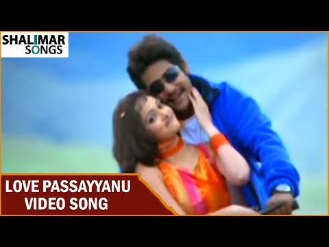 Love Passayyanu Video Song || Subbu Telugu Movie || NTR Jr, Sonali Joshi || Shalimar Songs