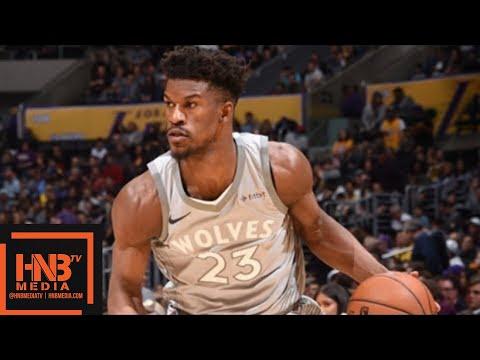 Minnesota Timberwolves vs Los Angeles Lakers Full Game Highlights / April 6 / 2017-18 NBA Season