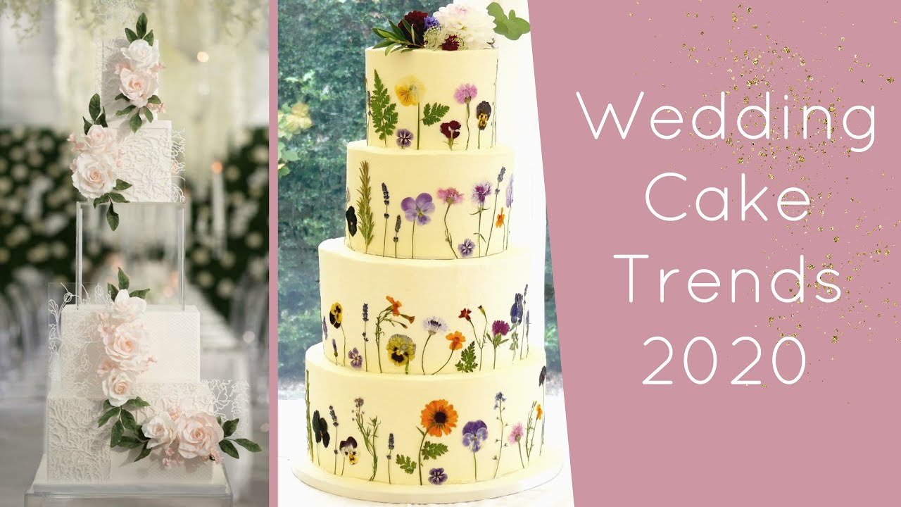 Wedding Cake Trends 2020.Wedding Cake Trends For 2020 Bride Society