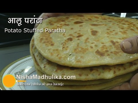 Aloo Paratha recipe Video - How To Make Alu Parantha Travel Video