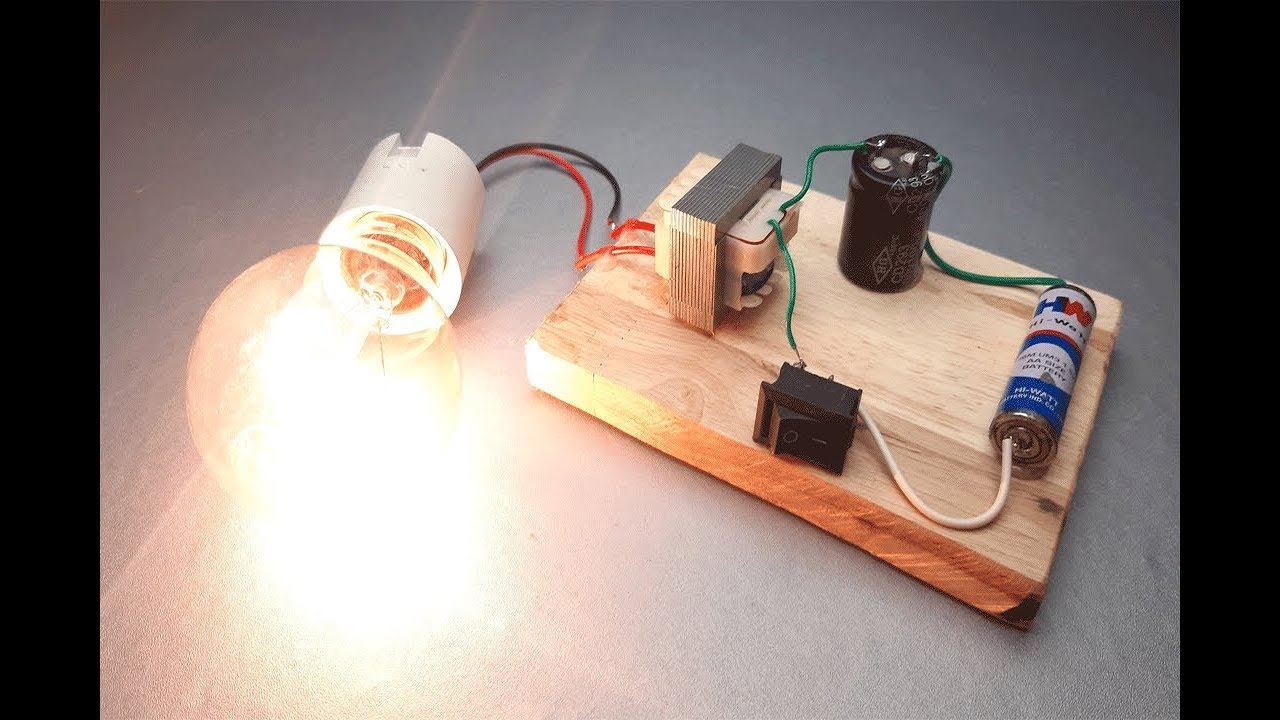 How To Make A Simple Inverter Circuit At Home